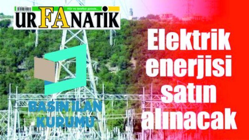 Elektrik enerjisi satın alınacaktır