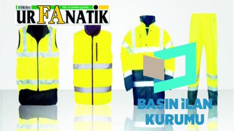 Giyim eşyası ve iş güvenliği malzemeleri satın alınacaktır