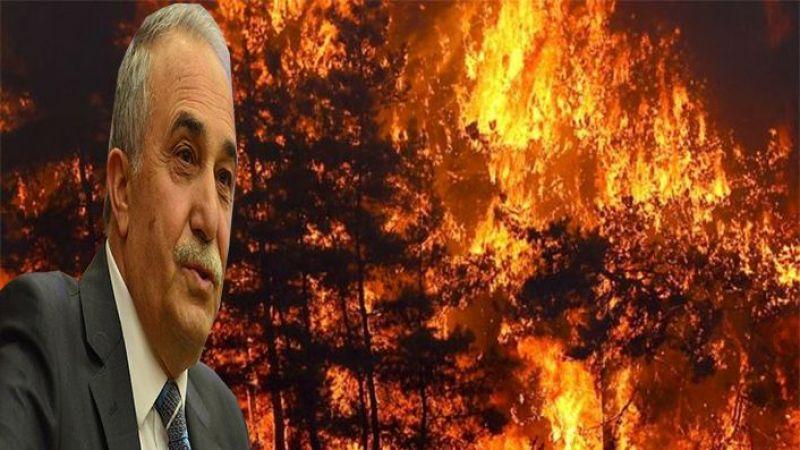 Fakıbaba'dan orman yangınıyla ilgili paylaşım