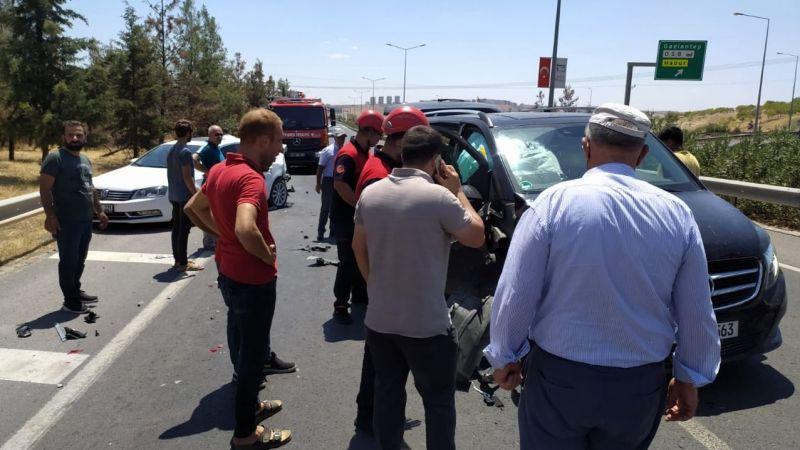 Şanlıurfa'da kaza: Yaralılar var!
