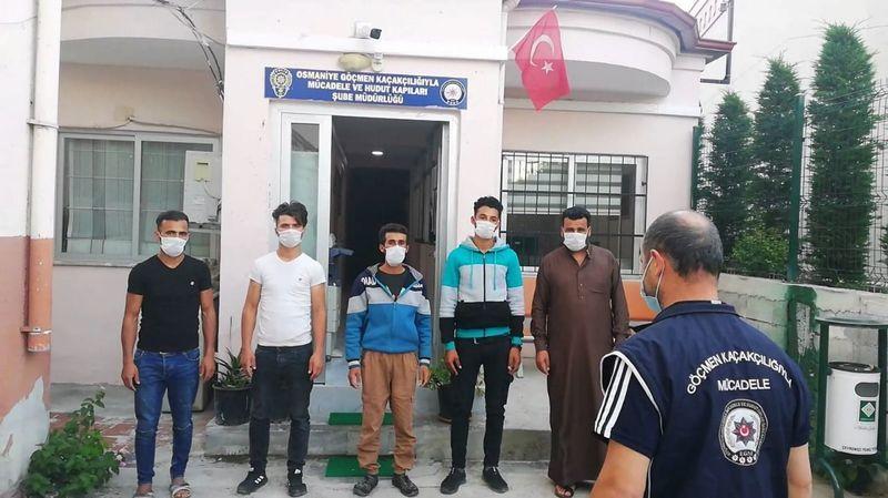 Urfa'ya yasa dışı yollarla girdiler: Osmaniye'de yakalandılar