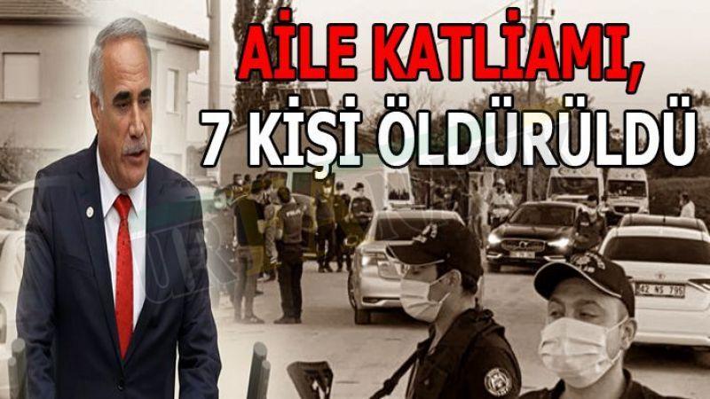 Vekil Aydınlık'tan Konya'daki katliama tepki