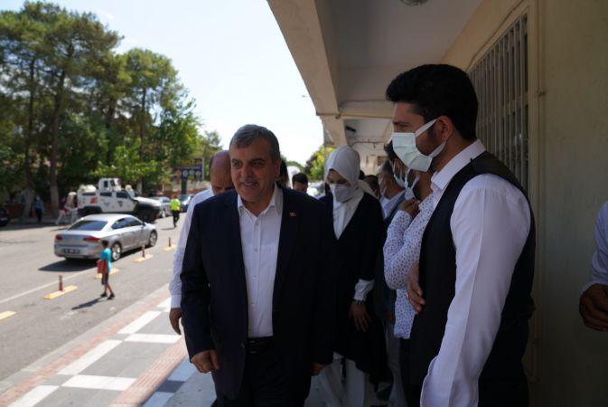 Başkan Beyazgül'den Siverek'e ziyaret