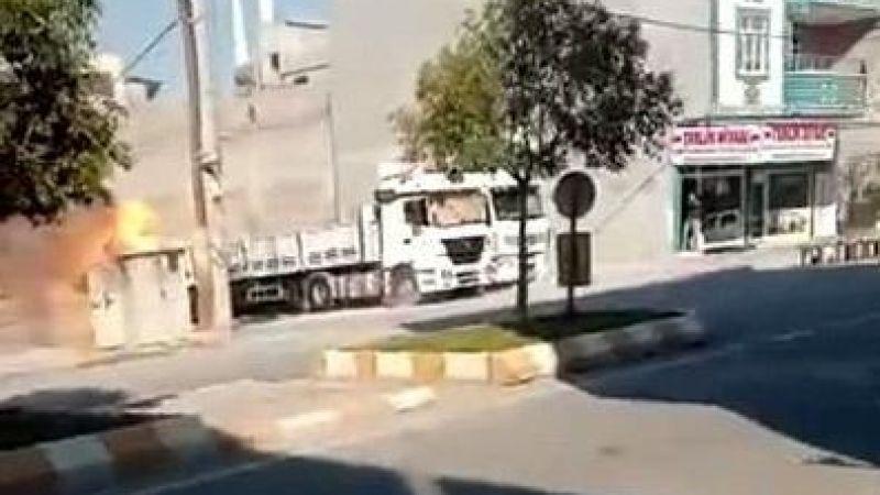 Şanlıurfa'da elektrik trafosu patladı: Korku dolu anlar!