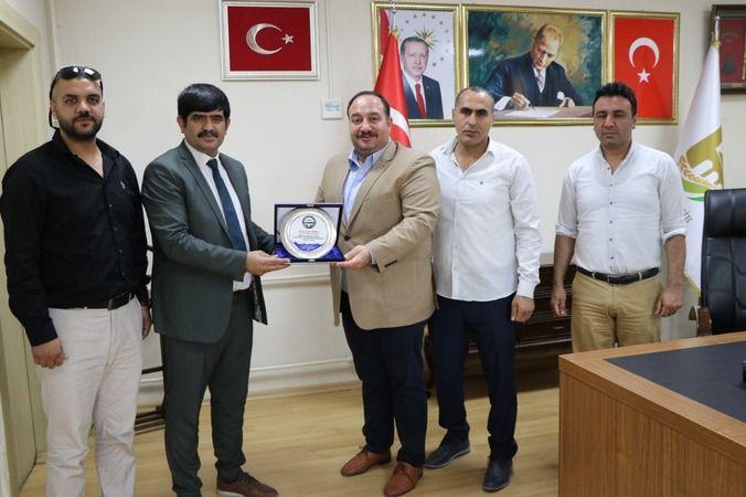 ASKF'den başkan Ekinci'ye teşekkür ziyareti