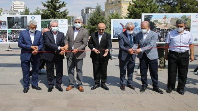 Mardin'de 'Direnen Filistin' fotoğraf sergisi açıldı