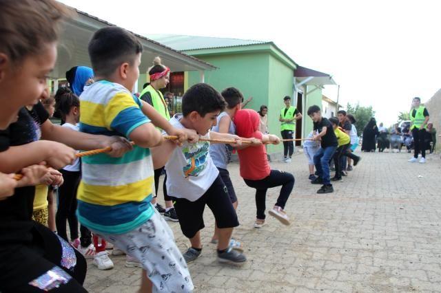 Urfa'dan giden çocuklar büyük sürprizlerle karşılaştı!