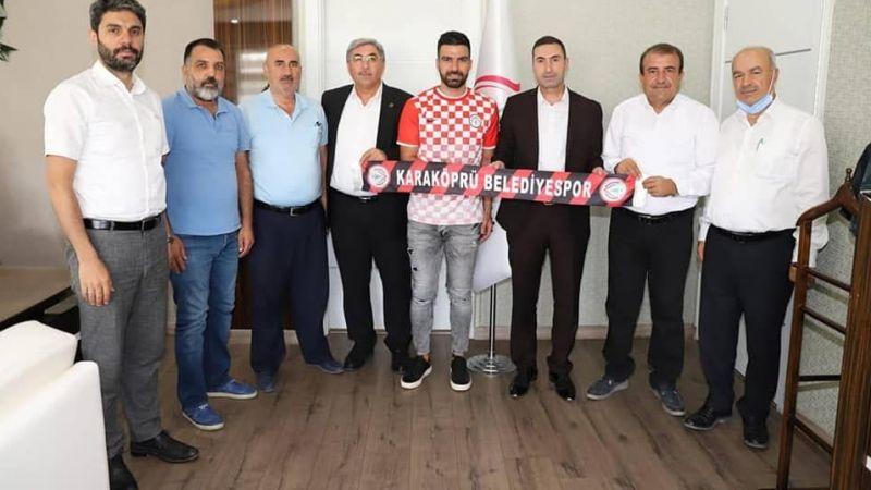 Fevzi Özkan Karaköprü Belediyespor'da