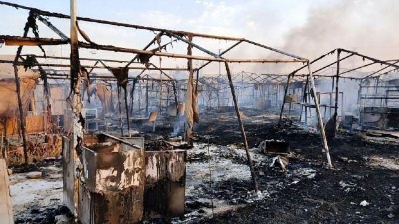 Urfa'da korkutan yangın: Bir mahalle kül oldu