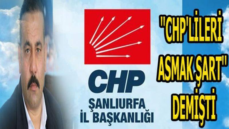 CHP Urfa İl Başkanlığı'ndan Çokan hakkında suç duyurusu!