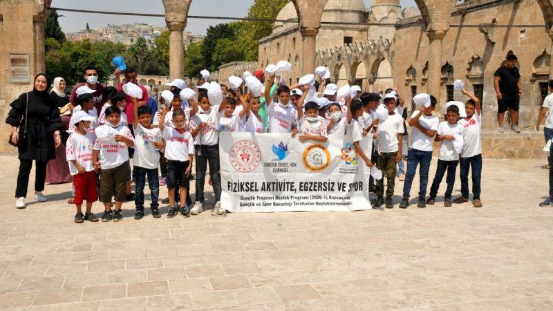 Şanlıurfa'da genç sporculara moral gezisi