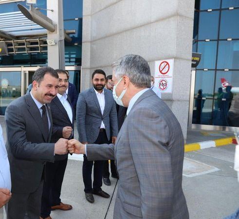 Ak Parti yerel yönetimler başkan yardımcısı Urfa'da