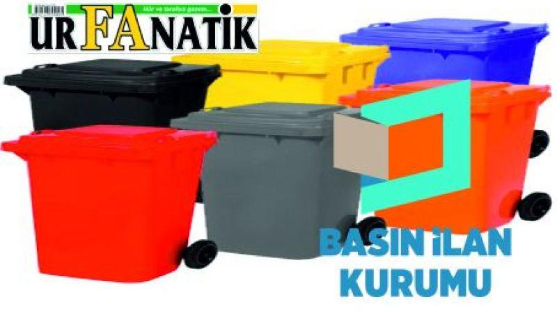 Çöp konteyneri ve kovası satın alınacaktır