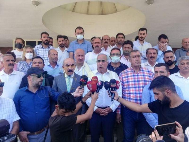 CHP Şanlıurfa'dan, hakaretler üzerine suç duyurusu!