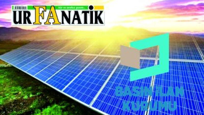 Güneş enerji santrali yaptırılacaktır