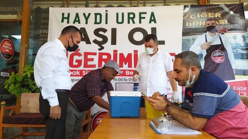 Böyle kampanya görülmedi: Urfalı kebapçı istasyon kurdurdu