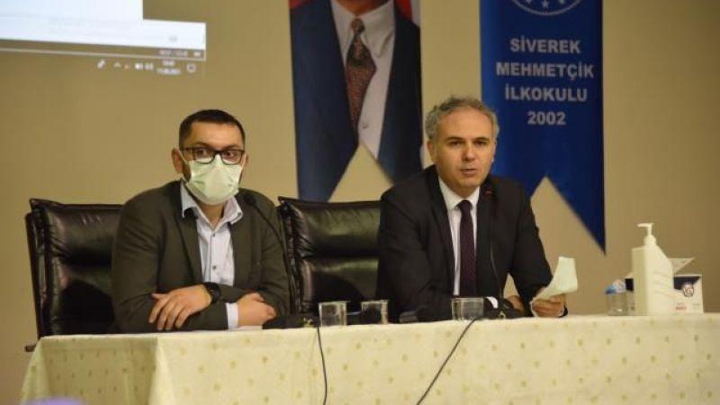 Siverek'te aşı bilgilendirme toplantıları sürüyor