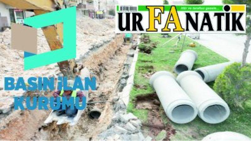 Kanalizasyon şebekesi yenileme işi yaptırılacaktır