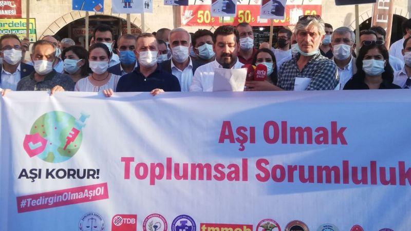 Şanlıurfa'da STK'lar yürüyüş yaptı: Aralarında Milletvekilleri de var!