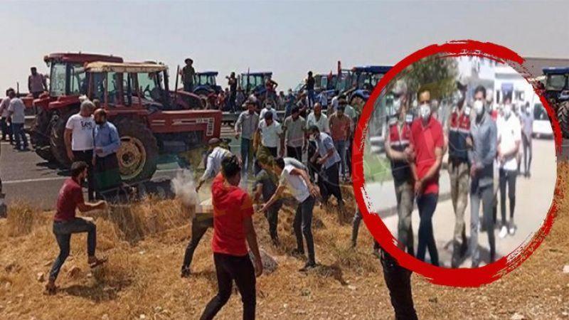 Şanlıurfa'da 13 çiftçi gözaltına alındı