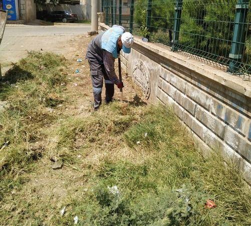 Viranşehir'deki okullarda temizlik başladı