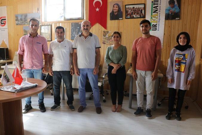 Görev yeri değişen BİK müdüründen Urfanatik'e ziyaret