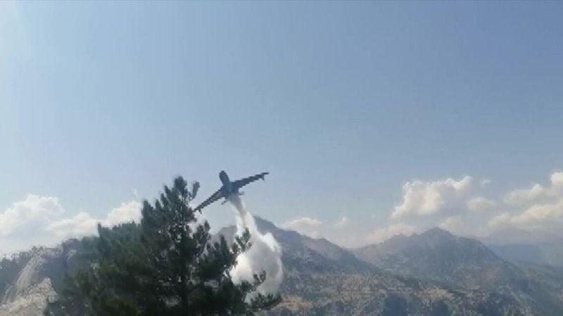 Yangın söndürme uçağı düştü: Acı haber duyuruldu