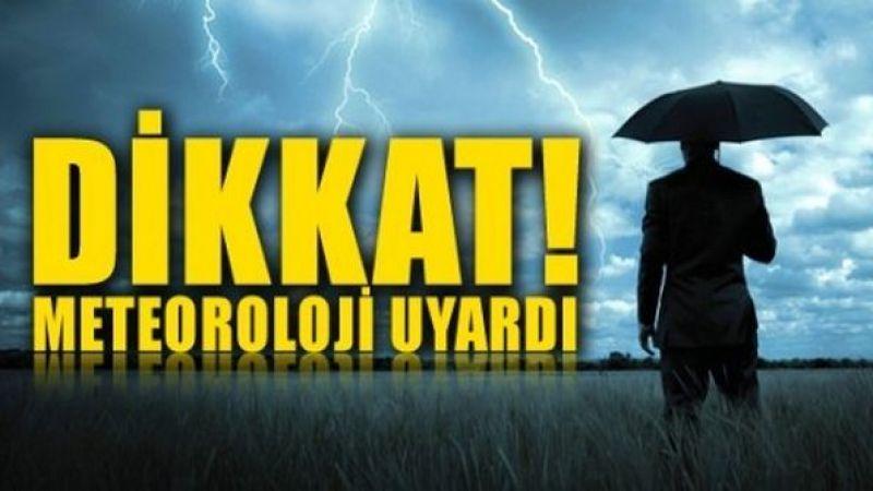 Meteoroloji çok sayıda ili uyardı!  Sıcaklık düşüyor, kuvvetli yağış geliyor