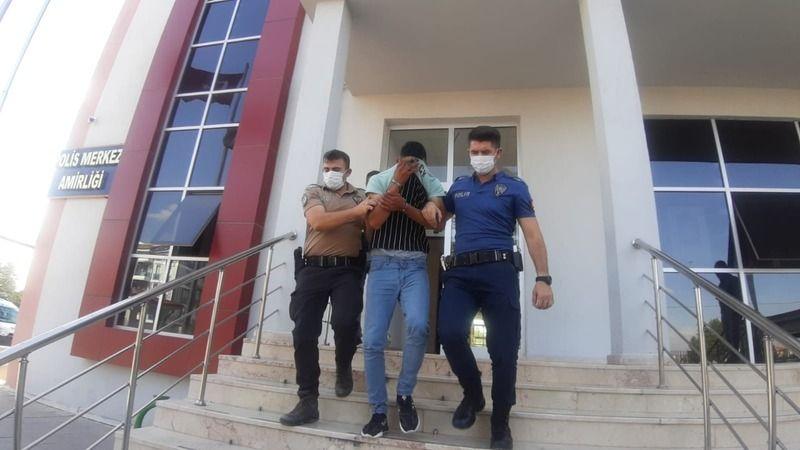 Afyon'da çalındı ,Viranşehir'de yakalandı