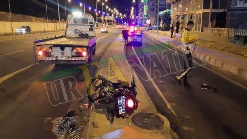 Karaköprü'de feci kaza: Baba ve çocuğu yaralandı