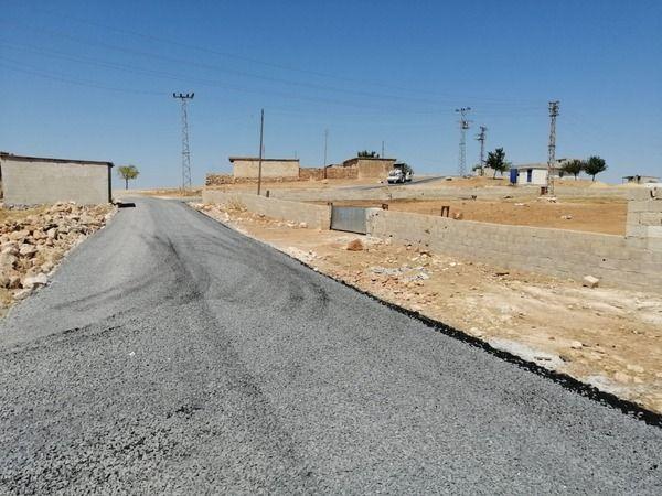 Viranşehir'de asfalt çalışmaları devam ediyor