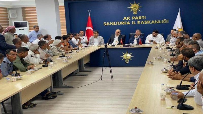 Ak Parti Urfa il başkanlığında kritik elektrik toplantısı