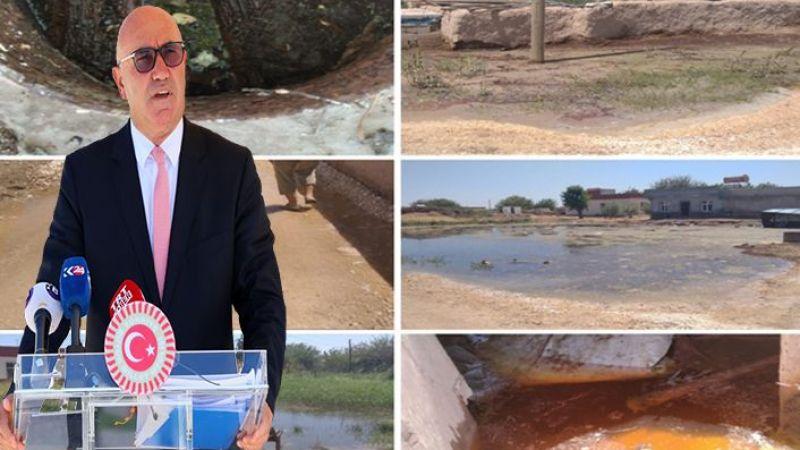 Suruç'ta birçok mahalle sular altında kaldı: Vekil Tanal DSİ' ye seslendi