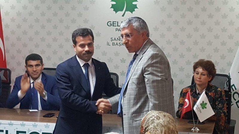 Urfa'da  ilçe başkanı görevden alındı