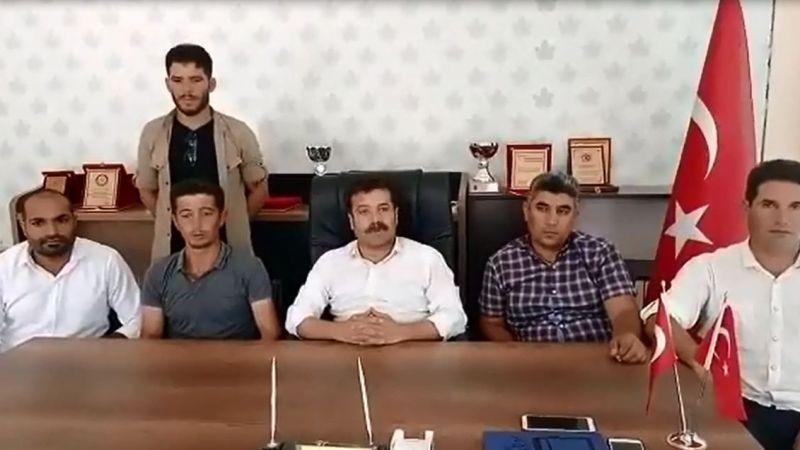 Urfa'da görevden alınan İlçe Başkanı açıklama yaptı!