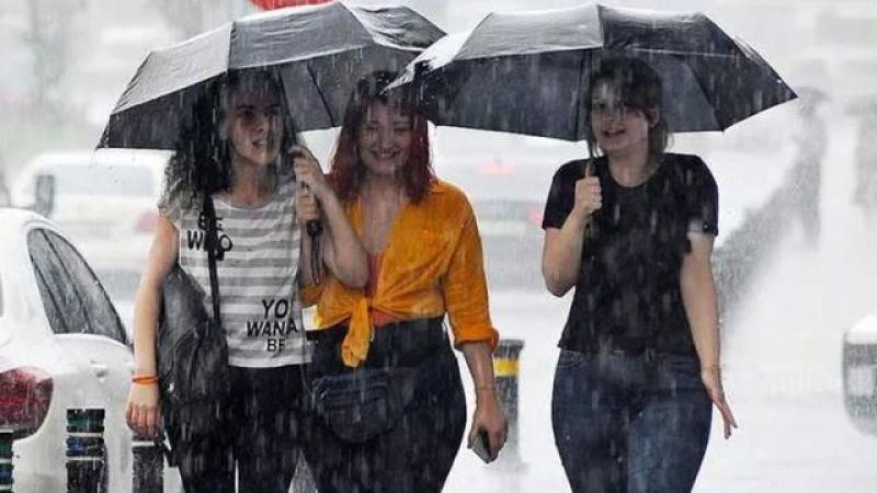 Meteorolojiden uyarı: 80 kilo yağmur düşebilir!