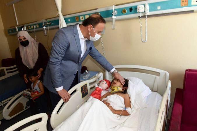 Şanlıurfa Valisi, feci kazanın ardından hastaneye gitti!