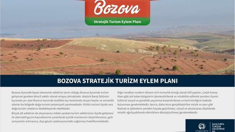 Bozova turizm eylem planı açıklandı: Urfalı mimardan öneri!
