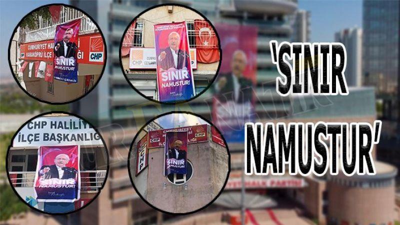Genel Merkez talimat verdi: Şanlıurfa'da birçok yere asıldı