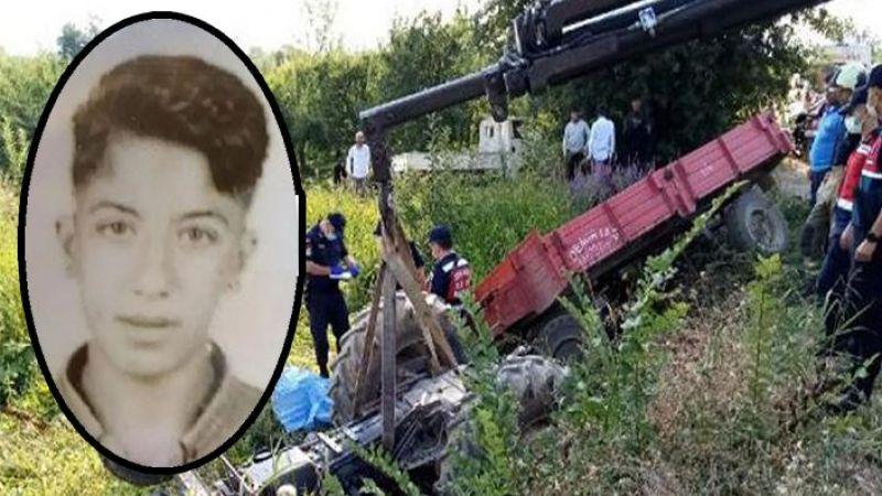 17 yaşındaki Urfalı tarım işçisi hayatını kaybetti