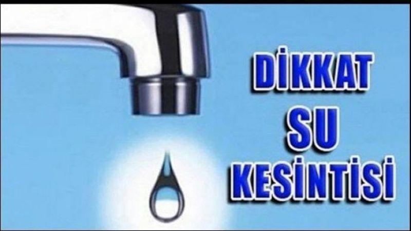Urfa'nın 4 mahallesinde sular kesilecek!