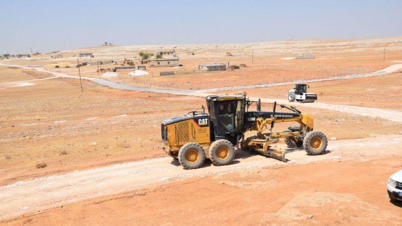 Viranşehir Belediyesi çalışmaya devam ediyor