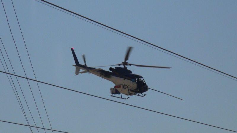 Şanlıurfa'da yürekler ağza geldi:  Helikopter tellere mi takıldı?