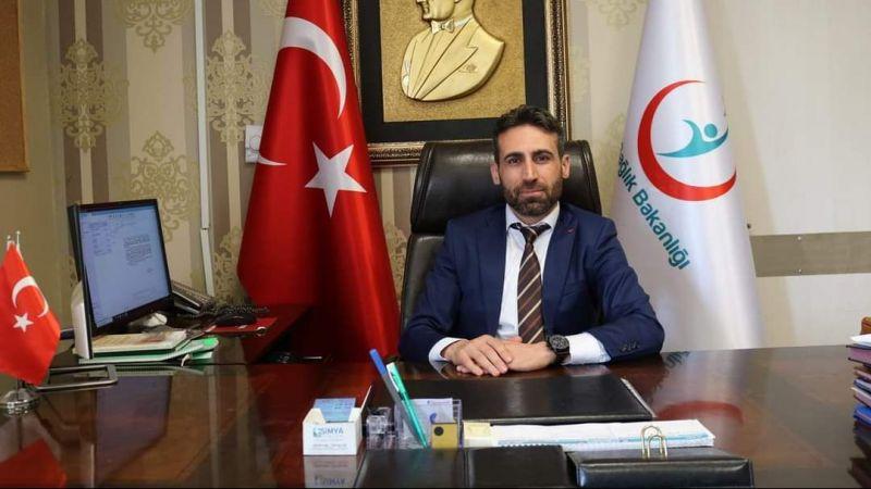 Urfa'da yeni Başhekim göreve başladı