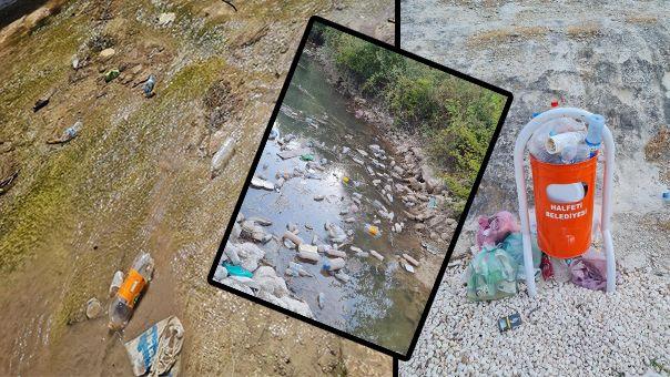 """Urfa'nın ilçesi çöplüğe dönüştü: """"Belediye ne iş yapar"""""""