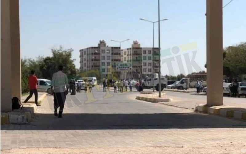 Urfa'da hareketli anlar: Hastane bahçesinde şüpheli paket!