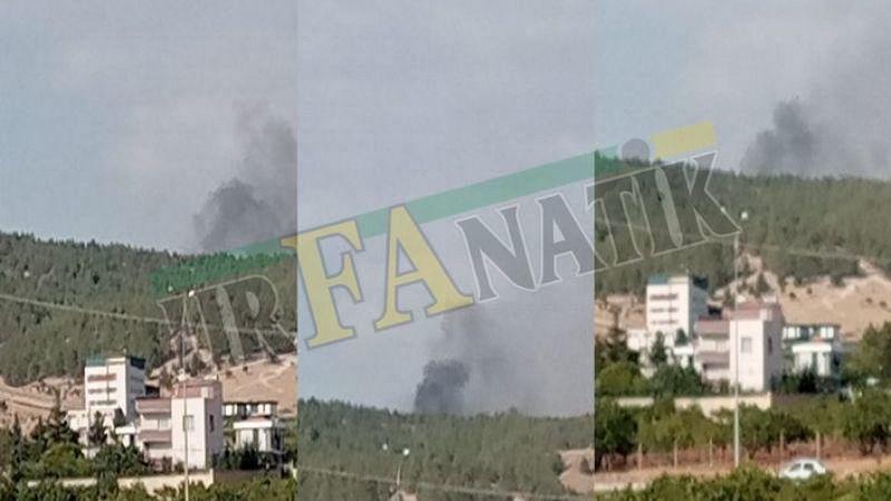 Karaköprü'de orman yangını: Kontrol altına alındı!