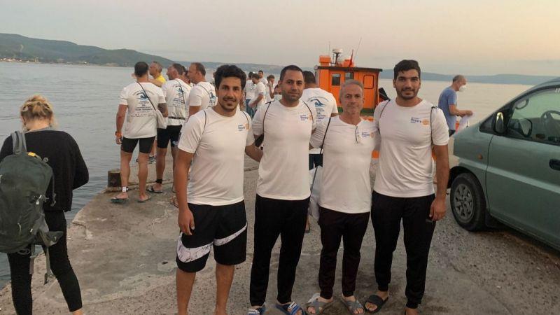 Şanlıurfalı Yüzücüler, Çanakkale Boğazını Yüzerek Geçtiler