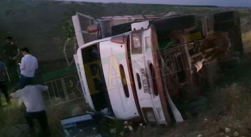 Urfa'da ardı ardına gelen korkunç kazalar: Çok sayıda yaralı!