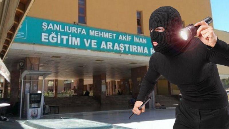 Şanlıurfa'da korona servisinde hırsızlık şoku